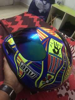 Fullface 46 Replica AGV Helmet