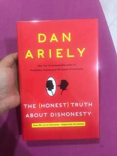 Motivational Book ( The Honest truth about dishonesty) #July70