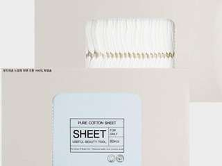 Tonymoly Cotton Sheet