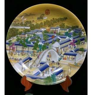 中國瓷器 清雍正禦制 琺瑯彩 姑蘇繁華圖紋