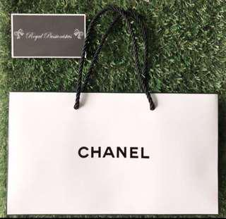 BN Chanel Authentic Paperbag Carrier.