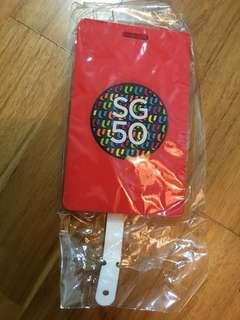 SG50 Luggage tag
