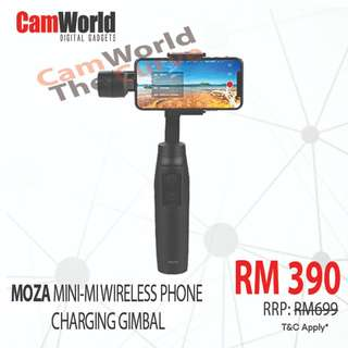 MOZA MINI MI WITH WIRELESS CHARGING