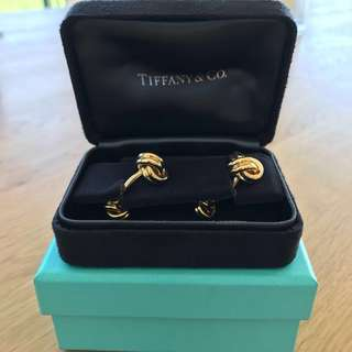 Tiffany 18K Gold Cufflinks