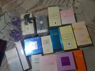 Authentic US Tester perfumes