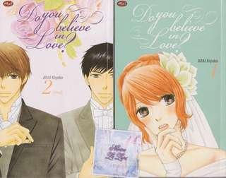 Komik Do you believe in love? By Arai Kiyoko