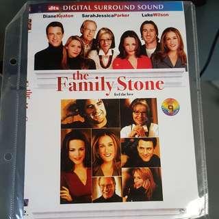 DVD - THE FAMILY STONE (2005) comedy drama romance sarah jessica parker luke wilson rachel mcadams claire danes diane keaton