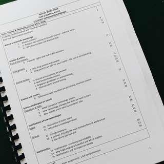 🏫✨ RAFFLES INSTITUTION H1 GP NOTES