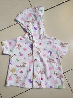 Hoodie printed shirts and strawberry socks