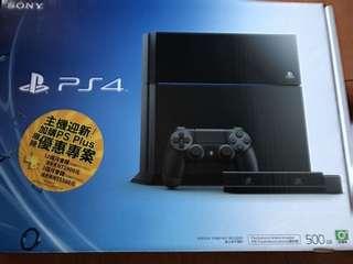 🚚 Sony PS4 主機 +攝影機+三國志遊戲 500G plus  9成新 只玩過一次
