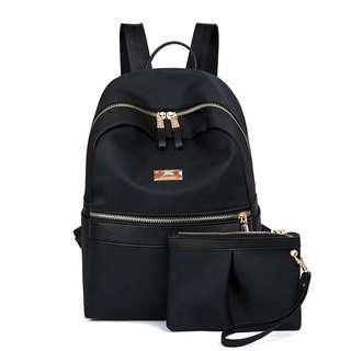 Water resistant! New Backpack with purse