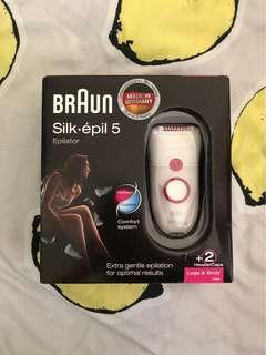 Braun silk epil 5 epilator