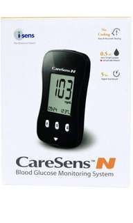 Caresens N Glucose Monitor, Exclude Test Strips blood glucose monitoring system