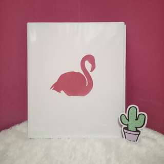 Flamingo Odner Medium