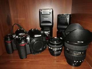 Nikon D90 D7000 SB700 SB900 50mm F1.4D Tokina 12-28mm F4 wide angle