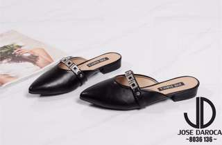 JD mule loafers shoes