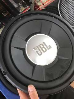 JBL Woofer & JBL Amp