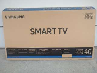 "EMPTY BOX ONLY (40"" SAMSUNG SMART TV)"