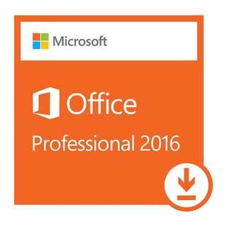 Microsoft Office 2016 Professional Plus 專業版 / 合全新安裝或 Office續期用 / 100%官網 Office.com 正版