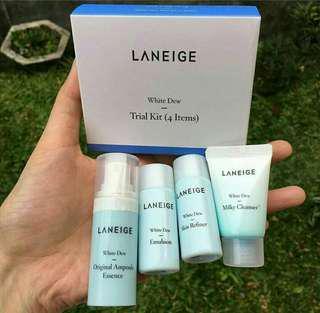 LANEIGE WHITE DEW 4 ITEMS