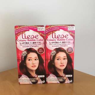 Liese Hair Dye Red Velvet