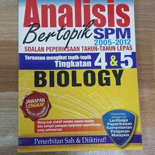 Spm biologi past year papers