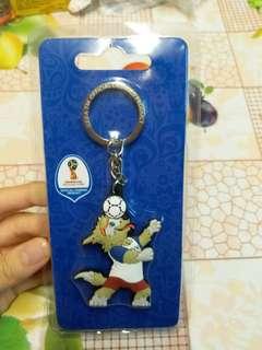 【限寄包郵】FIFA 世界盃吉祥物匙扣