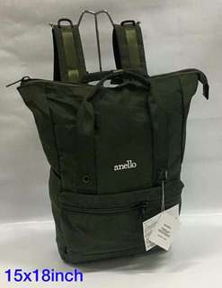 Anello bag pack