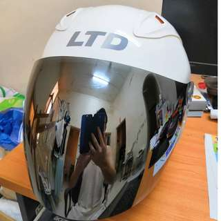 White LTD Helmet