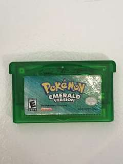 Pokemon Emerald GBA Cartridge