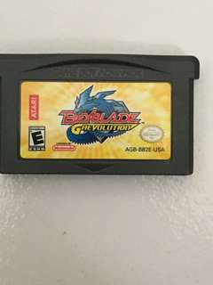 Beyblade G Revolution GBA Cartridge