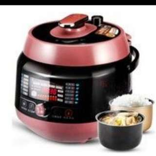 Electric high pressure cooker with pots 5L size