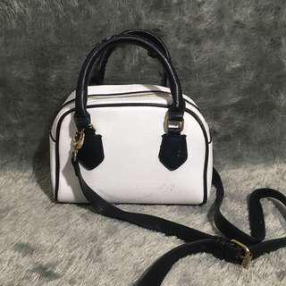 Zara White Bag Tas Putih