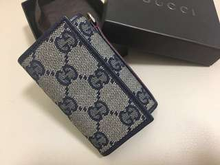 Gucci Classic Monogram key holder