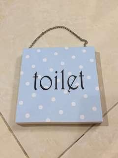 Pajangan toilet
