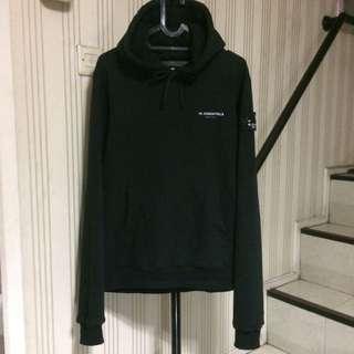 Wessentiels hoodie olive W'essentiels jaket jacket
