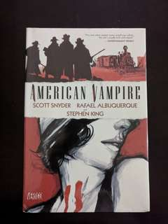 American Vampire Vol. 1 by Scott Snyder and Raphael Albuquerque (Hardcover)