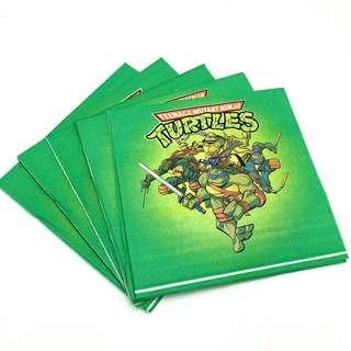 TMNT Teenage Mutant Ninja Turtle Party supplies - TMNT Napkins