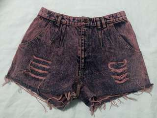 Electric Pink HW Shorts