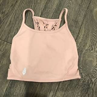 Free people yoga crop