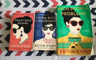 Kevin Kwan books 3 for 700