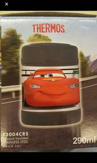 Disney cars thermos vacuum insulated stainless steel food jar