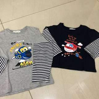 Boy Tshirt SUPER WING- PRICE FOR EACH