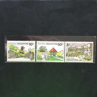 Singapore 1979 Botanic Garden full set of 3v MnH