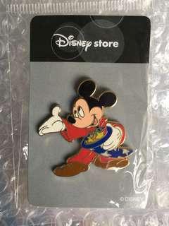 日本迪士尼 魔法帽Pin 米奇魔法師 Mickey Disney