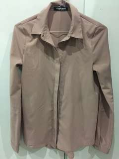 Dusty pink blouse AU6