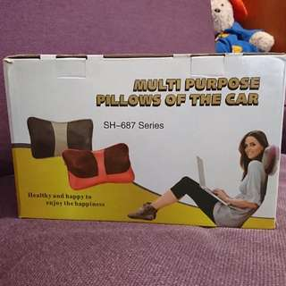 Brand New Massage Car Pillow 😎