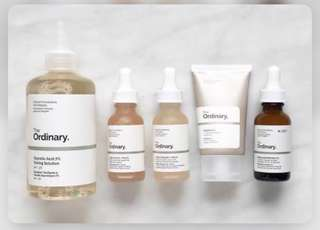 PRE- ORDER THE ORDINARY PRODUCTS
