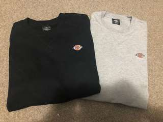 Dickies long sleeve and T-shirt