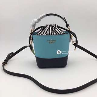 Kate Spade Pippa Bucket Bag - blue